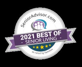 2021 Senior Living Badge
